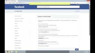 getlinkyoutube.com-Get Your Facebook Page/Profile Verified