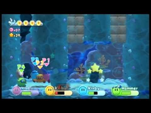 Kirby's Return to Dreamland - 4 Player Walkthrough (Part 11)