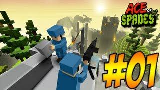 getlinkyoutube.com-Ace Of Spades #001 - Shooter im Minecraft Style [Deutsch/HD]