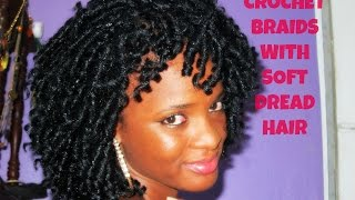 getlinkyoutube.com-Crochet Braids with Soft Dread Hair