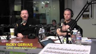 Ricky Gervais on Gun Control - Opie and Anthony