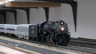 getlinkyoutube.com-Santa Fe 4-8-4 3751 San Diego Special HO Scale Edition