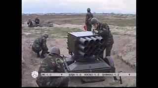 getlinkyoutube.com-Kornet-E ATGM  and 128 mm RAK-12 mrls of Azerbaijan armed forces