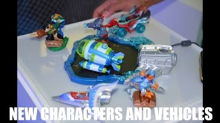 getlinkyoutube.com-Skylanders SuperChargers New Characters and Vehicles