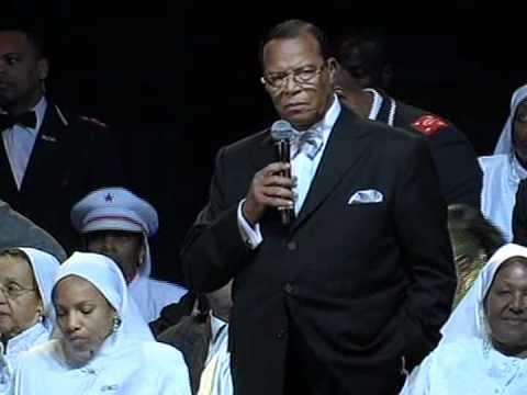 Minister Farrakhan Responds to Muammar Gaddafi and Libya Situation (Feb 27, 2011) 1 of 2