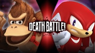 getlinkyoutube.com-Donkey Kong VS Knuckles | DEATH BATTLE!