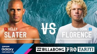 Kelly Slater vs. John John Florence - Billabong Pro Tahiti 2016 Final