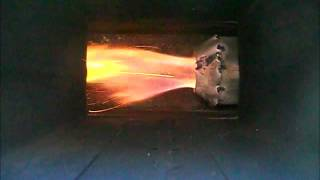 getlinkyoutube.com-Rocket stove pellet burner #2