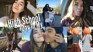getlinkyoutube.com-A Day In My Life // High School