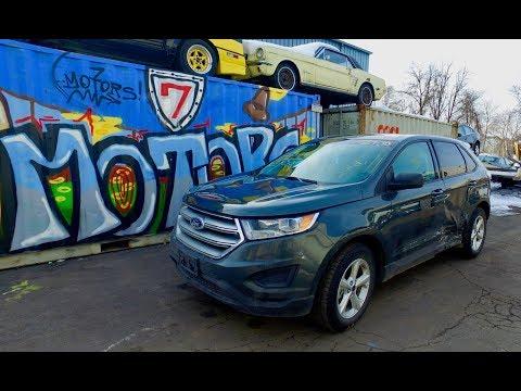 2015 Ford Edge - 13500$ под ключ без ремонта в Украине. Авто из США