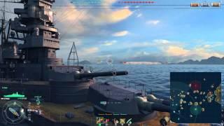World of Warships Kongo X 艦これ 金剛 ボイス プレイ動画