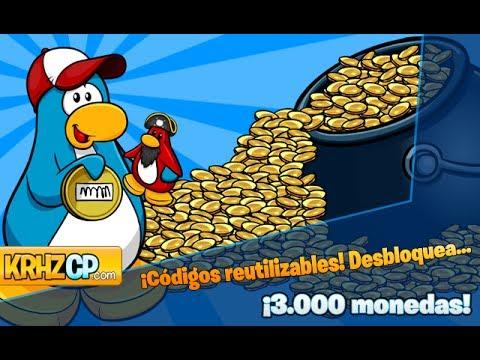 Club Penguin: ¡Códigos reutilizables! | 3.000 monedas, Enero 2014