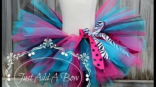 getlinkyoutube.com-HOW TO: Make Tutus More Full and Fluffy by Just Add A Bow