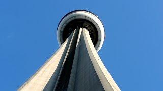 getlinkyoutube.com-Going up 114 floors! OTIS high-rise scenic elevators @ CN Tower, Toronto, Canada