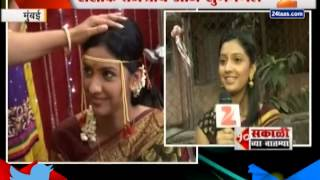 getlinkyoutube.com-ZEE24TAAS : Actor Tejshree-Shashank getting married today
