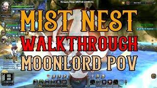 Dragon Nest - Mist Nest Walk-through/Guide ; Moonlord POV ~ !