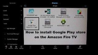 getlinkyoutube.com-How to install Google Play store on the Amazon Fire TV