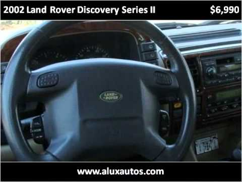 2002 land rover discovery series ii problems online