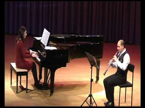 Fr.Pouleng Sonata for Oboe and Piano- III Deploration