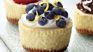 getlinkyoutube.com-Mini Cheesecakes Philadelphia