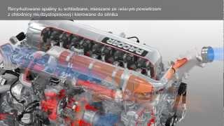 Daf XF Paccar MX-13 - układ oczyszczania spalin