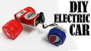 How to make the simplest  electric car - homemade mini car