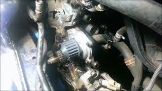 getlinkyoutube.com-Water pump/timing belt - 2005 Dodge Stratus 2.4L DOHC