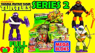 getlinkyoutube.com-Teenage Mutant Ninja Turtles Mega Bloks Blind Bags Series 2
