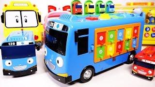 getlinkyoutube.com-Tayo the little bus Musical Pop up toy 똑똑한 꼬마버스 타요