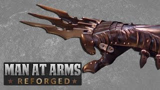 getlinkyoutube.com-Batman's Wolverine Claws - MAN AT ARMS: REFORGED