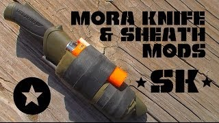 getlinkyoutube.com-Mora Knife and Sheath Modifications