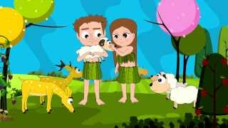 getlinkyoutube.com-Bible Stories for Children: Adam and Eve