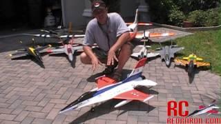 getlinkyoutube.com-F 16 Falcon 70mm EDF Jet by NitroPlanes MAIDEN FLIGHT