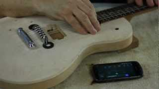 getlinkyoutube.com-Part 3 - Electric Guitar Bridge Installation