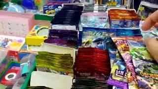 getlinkyoutube.com-문방구표 포켓몬스터 XY 카드 시리즈 14개 (EX카드 대박) [대포마스터]