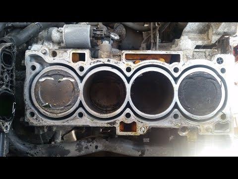 KIA Sorento engine noise Remove cylinder Head Part_2