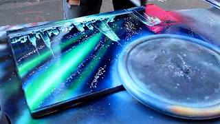 getlinkyoutube.com-AMAZING New York City Spray Paint Art in Time Square 2014 :)