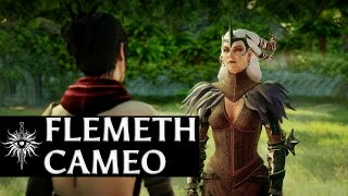 getlinkyoutube.com-Dragon Age: Inquisition - Flemeth Cameo (no Kieran/no Dark Ritual)