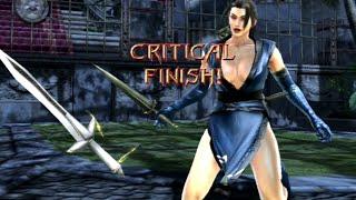 getlinkyoutube.com-All Critical Finish on Taki - Soul Calibur 4 HD 720P