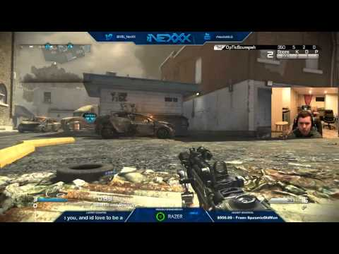 NexXx & Scump vs Slacked & TJHaly - 2v2 Tournament Semi-Finals