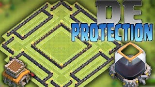 getlinkyoutube.com-Clash of Clans - TH8 *Protect Your Dark Elixir* Townhall 8