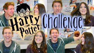 The ultimate HARRY POTTER CHALLENGE | ItzSannyz & TvMixMax