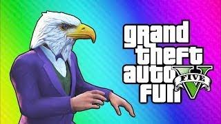 getlinkyoutube.com-GTA 5 Online Funny Moments - Air Walk Glitch, Faggio Cop Glitch, Beer Hat Crate!