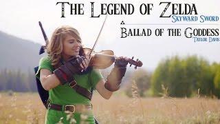 getlinkyoutube.com-Ballad of the Goddess (Zelda Skyward Sword Theme) - Violin Cover - Taylor Davis