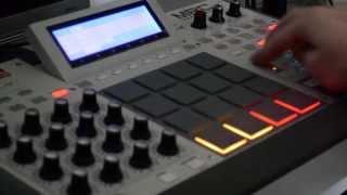 getlinkyoutube.com-Beatmaking Hip-Hop #3 : Special Beat for Scratching Loan's Birthday on AKAI MPC RENAISSANCE