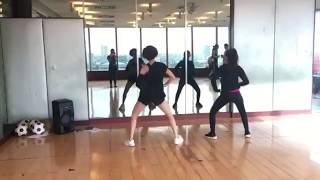 Loisa Andalio Dance Rehearsal