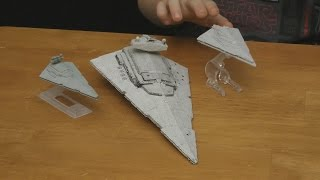 getlinkyoutube.com-Hot Wheels STAR WARS The Force Awakens First Order Star Destroyer