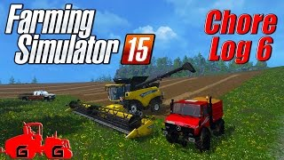 Farming Simulator 15: Chore Log 6 - Reunion!
