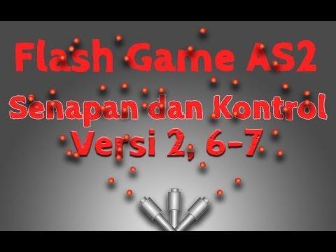 Membuat Game Flash Actionscript 2, 14, Senapan dan Kontrol Versi 2, Meletakkan Peluru pada Senapan
