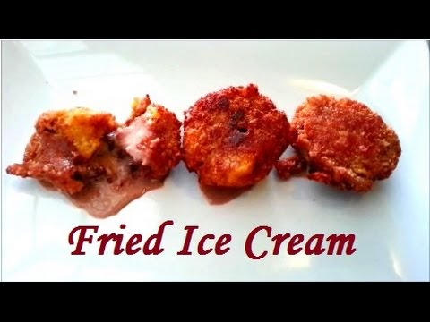 Fried Ice Cream Recipe (Resep Es Krim Goreng)